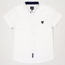 Рубашка для мальчиков с коротким рукавом белого цвета Cegisa